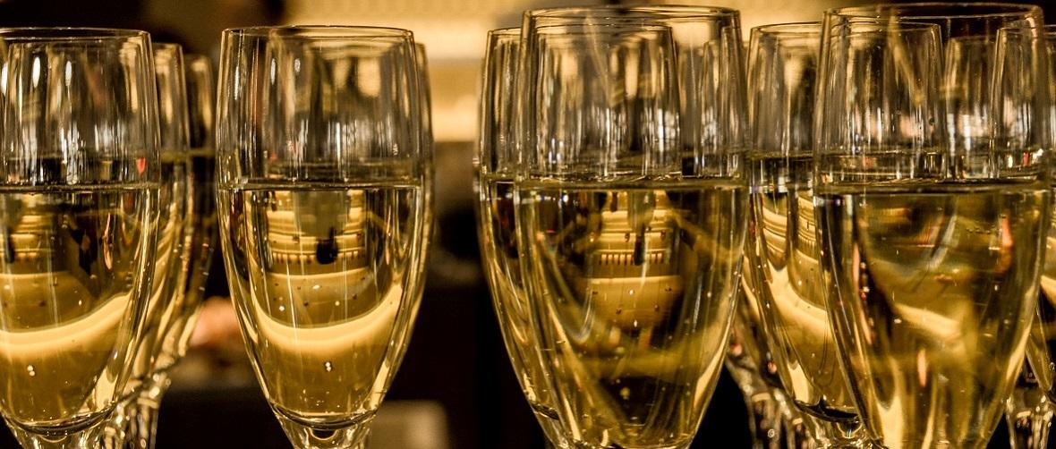 champagne pour le réveillon